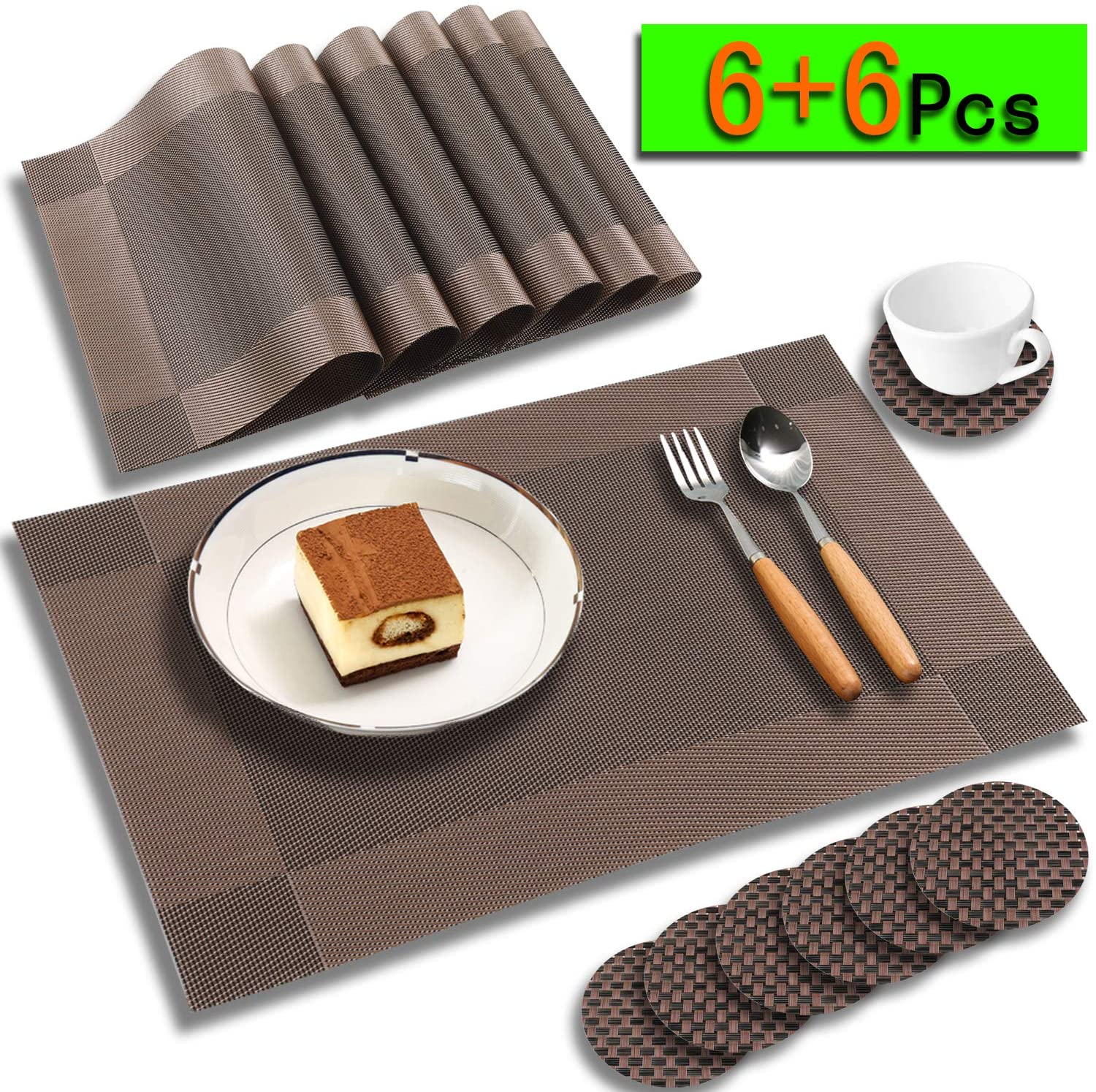 placemats for dining table  vinyl placemats set of 6