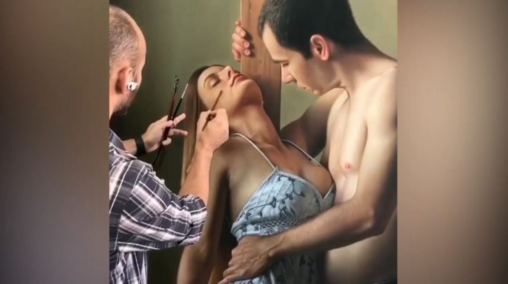 Amazing Painting – When drawing have come to life
