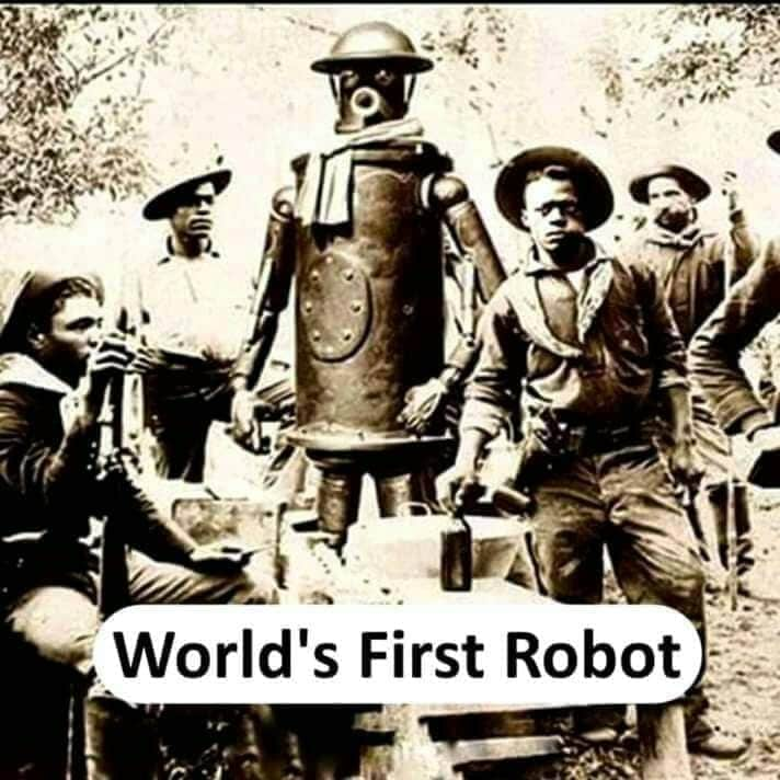 world's firs robot