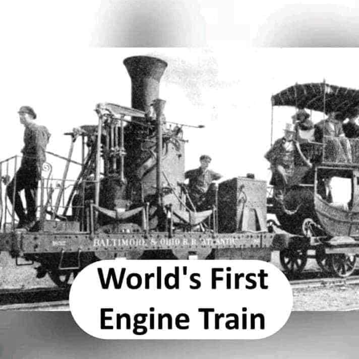 world's first engine train