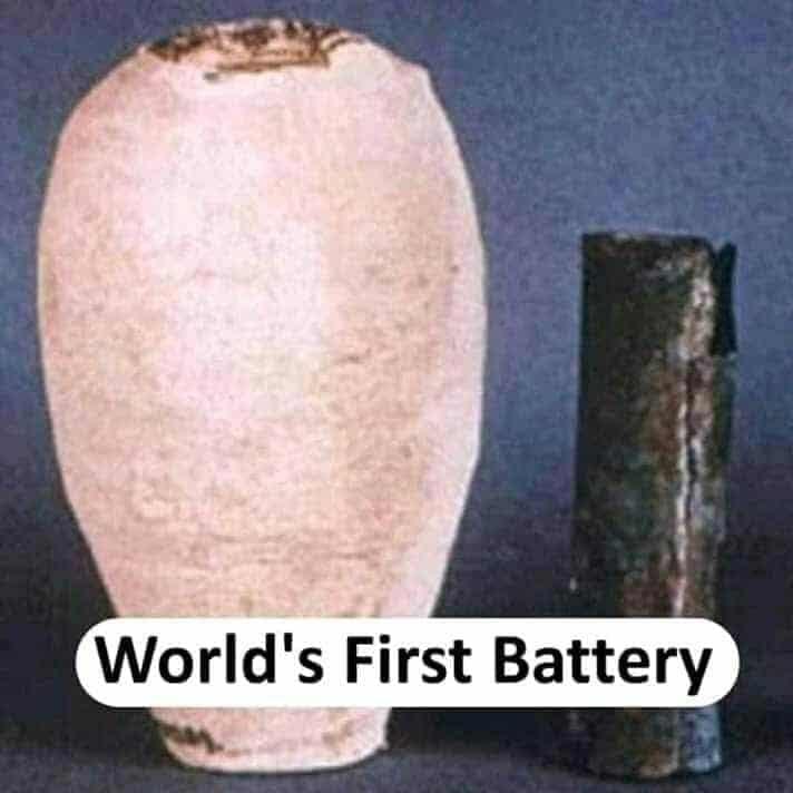 world's first battery