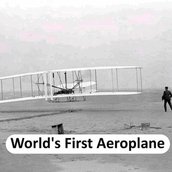 world's first aeroplane