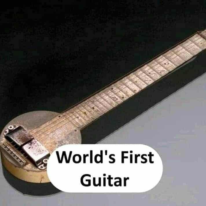 world's first guitar