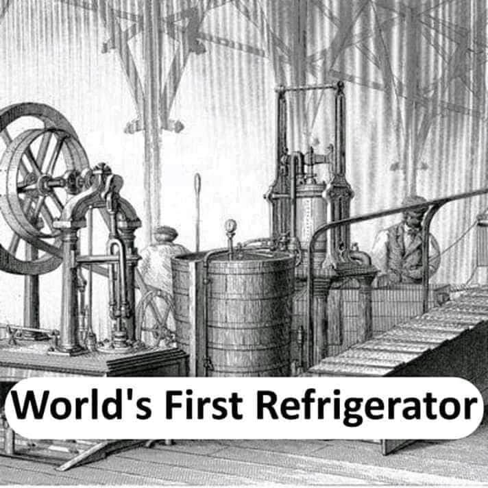 world's first refrigerator