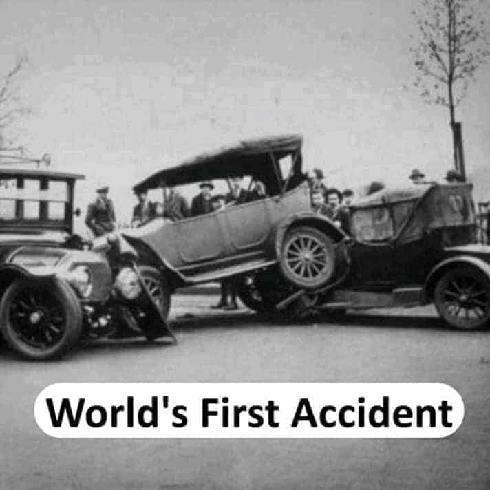 world's first accident