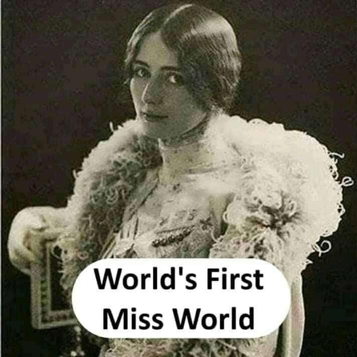world's first Miss World