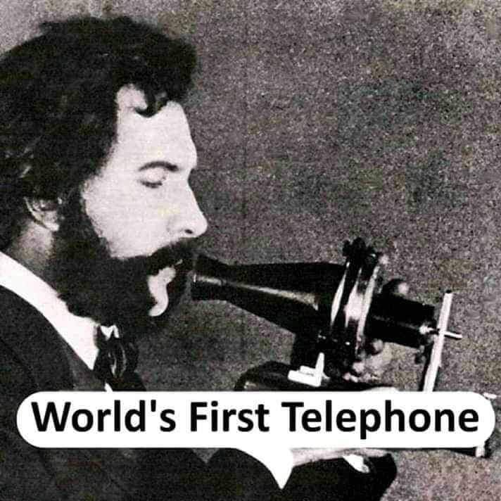 world's first Telephone