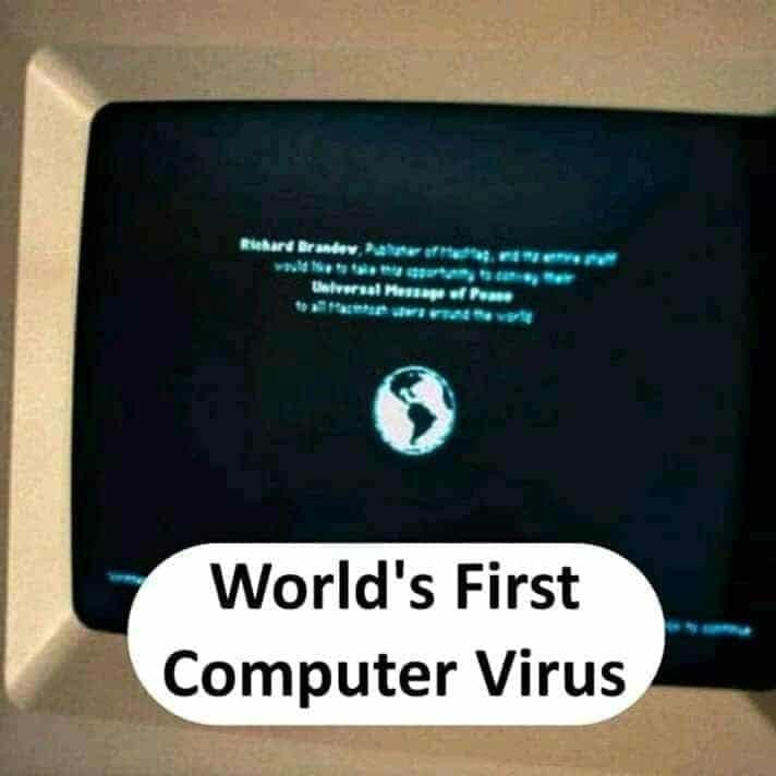 world's first computer virus