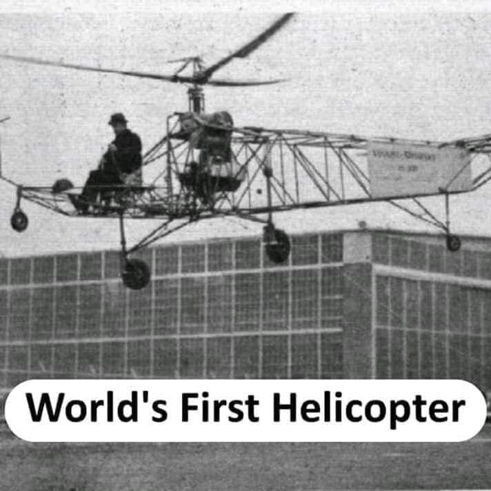world's first helicopter