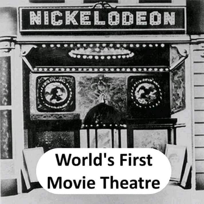 world's first movie theatre