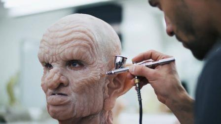 How movie makeup is made for horror and fantasy – Compilation
