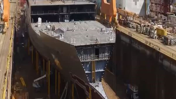 Building a Giant Ship in 5 Minutes