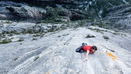 The most difficult rope-less climb in history