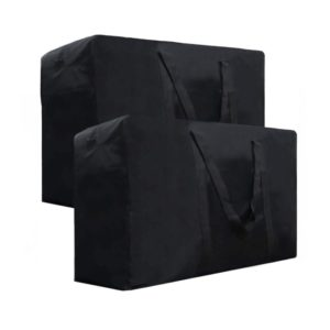 2Pcs 154L Oversized Storage Bag Water-Resistant
