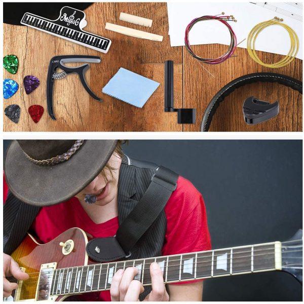 51 PCS Acoustic Guitar Strings Kit
