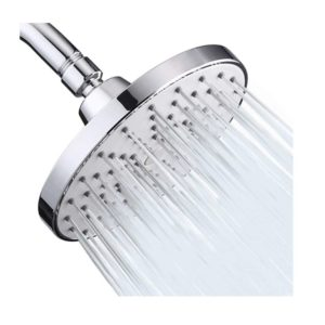 High Pressure Shower Head 6 Inch Rain Modern Luxury Rainfall Showerhead Chrome Plated