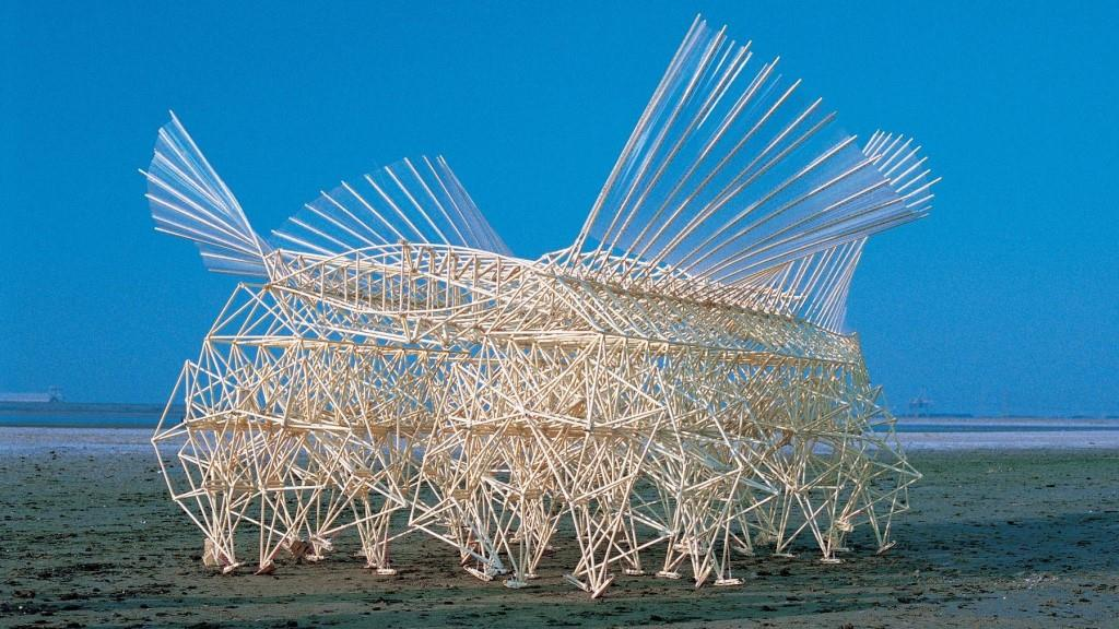 These wind-propelled sculptures are mesmerizing